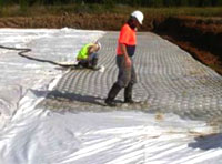 EPS is a recognised supplier and installer of grout filled revetment mattress products